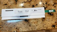 KitchenAid Dishwasher Control Panel White new/open box #8269196/8269132
