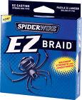 Spiderwire EZ Braid Fishing Line Moss Green 110 yd Spools CHOOSE YOUR TEST
