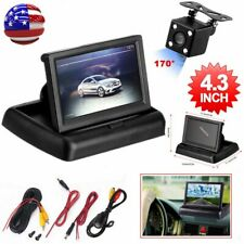 "4.3"" TFT LCD Monitor + Car Backup Camera Rear View Parking Assistance System Kit"