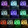 Multicolor Fairy String Lights 5M 50LEDs Battery Operated Remote Control 3Wire