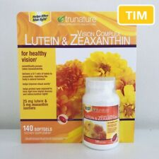 trunature Vision Complex Lutein & Zeaxanthin, 140 Softgels (New Inventory!!!)