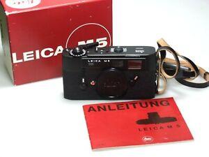Leica M5 Black