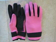 Scuba Diving Snorkeling Neoprene Gloves for Warm Water Pink X-Small