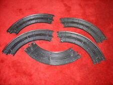 "JOB LOT 5 FORMULA Tyco 9"" R 1/4 cerchio curva TRACK B5831 Pezzo SLOT CAR Set 1/64"