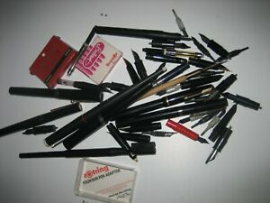 Vintage Collection of Pens and Nibs