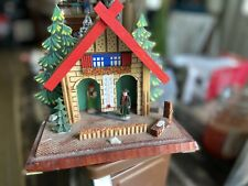 New listing Vintage West Germany German Weather House Chalet Toggili Thermometer