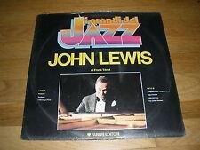 JOHN LEWIS dei grandi del jazz LP Record - sealed