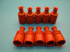 10 pieces Genuine LAUTERBACHER Rubber-Gaitors Red for FG-Models