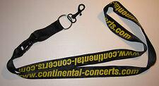 Continental Concerts Schlüsselband Lanyard NEU (A39)