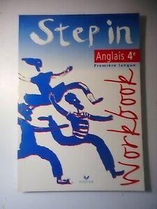 Livre - Collège - Anglais - 4 ème - Step in - Workbook