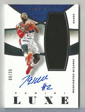 2014-15 Panini Luxe John Wall Auto/Autograph Game Used Jersey Relic WIZARDS 6/35
