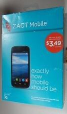 Zact Mobile - Zact Awe  Cell Phone - Black - not supported w/ any carrier