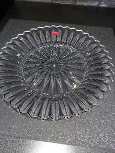 Baccarat Glasteller, Glasschale. Dachbodenfund.