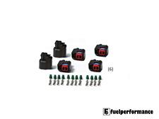 Bosch EV6 EV14 ID Injector Dynamics USCAR Fuel Injector Plugs (6)