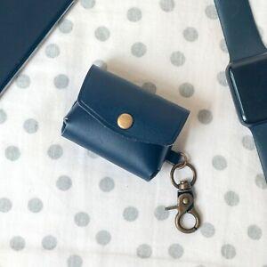 SONY WF-1000XM3 truly wireless headphones Leather Case Holder Keychain
