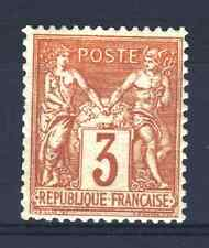 "FRANCE STAMP TIMBRE N° 86 "" SAGE 3c BISTRE - JAUNE "" NEUF x TB A VOIR  R098"