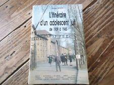 ITINERAIRE D'UN ADOLESCANT JUIF SCORIN CAMP DE LA LANDE  EXTERMINATION GESTAPO