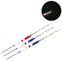 3pcs Fishing Float LED Electric Float Light Fishing Tackle Electronic Flo-vBDAU