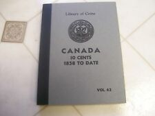 RARE VINTAGE LIBRARY OF COINS CANADIAN 10 cents 1858-1961 FREE SHIPPING