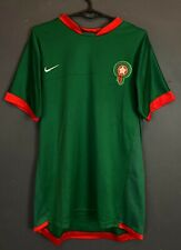 Men'S Nike Morocco National Soccer Football Shirt Jersey Maillot Green Size M