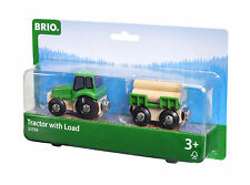 Ferrovia in legno Brio Trattore con Ciondolo di 33799 Vagone - nuovo conf. orig.
