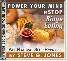 DR.STEVE G JONES Clinical Hypnotherapist STOP BINGE EATING HYPNOSIS CD