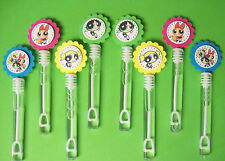 8 POWERPUFF GIRLS  Bubble Wands, Birthday, Party Favors