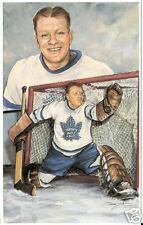 "Walter ""Turk"" Broda Legends of Hockey Card #74"
