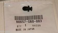 1x Genuine HONDA New Plastic Push Fixing Splash Shield Clip  P/No. 90657-SB0-003
