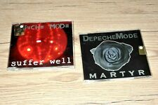 DEPECHE MODE 2 X PROMO  suffer well martyr single CD