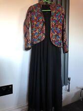 Filles Robe Longue Avec Embelli Veste. Porté une fois