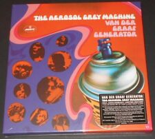 "VAN DER GRAAF GENERATOR aerosol grey machine UK LP + 7"" +2CD BOX SET new sealed"
