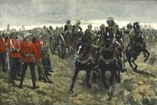 Royal Horse Artillery & 66th Foot Battle of Maiwand Afghanistan 7x5 Inch Print