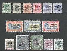 BAHAMAS 1942 LANDFALL OF COLUMBUS SET TO £1 (SG 162-175) (HM)