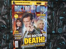 DOCTOR WHO MAGAZINE #427. DOCTOR'S DEATH. NOVEMBER 2010.