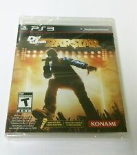 NEW FACTORY SEALED DEF JAM RAPSTAR FOR SONY PS3 PLAYSTATION 3  RAP STAR