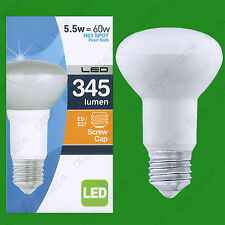 4x 5.5W R63 LED Low Energy Pearl Reflector Spotlight Bulb ES E27 Light Lamp