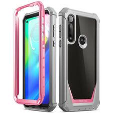 Motorola Moto G Power Case,Poetic Hybrid Shockproof Protective Cover Pink