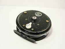"""Vintage JW Young 3 ½"""" Beaudex Fly Fishing Reel - Trade Reel"""