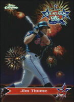 1997 Topps Chrome All-Stars Refractors Indians Baseball Card #AS7 Jim Thome