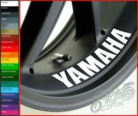 YAMAHA Inside Wheel Rim Stickers Decals - 20 Colors Available - x 4 or x 8
