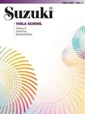 Suzuki Viola School Music Book Volume 6 Revised Edition Brand New On Sale!