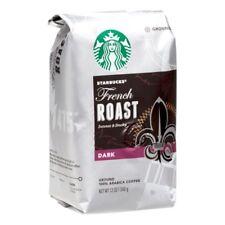 Pack 10 Starbucks French Roast Ground Coffee Dark Roast 12 ounces each