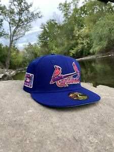 Hat Club Exclusive Interstellar Jelly St. louis Cardinals Space Jam 7 1/2 New DS