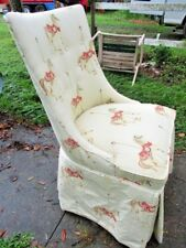 Carousel Horse Brocade Covered Chairs