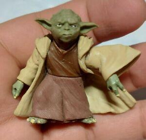 "Star Wars 2001 Hasbro YODA 2"" Loose Action Figure C111"