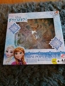 Sambro Disney Frozen Mini Pop Up Game (Similar to Frustration).BOXED NEW