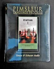 Italian I: Pimsleur Language Programs Audio Cassettes 0743518284  Euro Edition