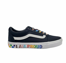 Vans Womens Ward Pride VN0A5EMB587 Lace Up Black Sneaker Shoes Size 7
