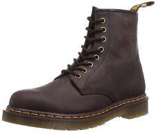 Para Hombres Zapatos Dr. Martens 1460 8 Ojo Cuero Botas 11822203 GAUCHO CRAZY HORSE